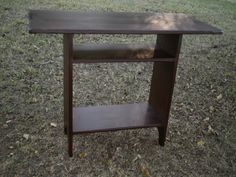 Console TV Tavern Table by PRIMITIVEPASSIONS on Etsy, $150.00