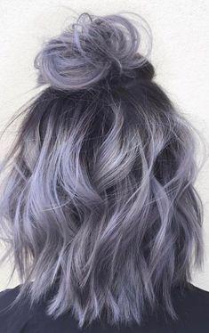 36 Gray Silver Ombre Hair Color Ideas for Attention-Grabbing Gals, #AttentionGrabbing #Color #Gals #Gray #Hair #Ideas #Ombre #Silver