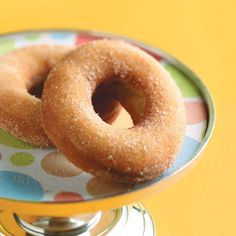 Old-Time Cake Doughnuts Recipe from Taste of Home -- shared by Alissa Stehr of Gau-Odernheim, Germany