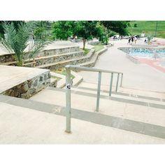 Greetings from l'îlle de la Reunion |  St Denis skatepark #oldskullzskateboard #summer #holidays #forever #skatepark #constructo #oldskullz #skateboard #OldDirtySouthTour #lareunion #skatecamp #skateschool #ecoledeskate by oldskullzskateboard