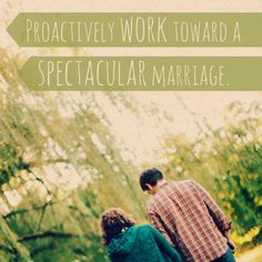 Pick a marriage tip from this huge list to start proactively working toward a spectacular marriage! #Blessing