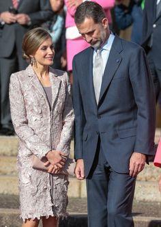 Los reyes Felioe VI y Letizia en confidencias. 28.11.2016.