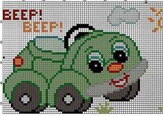 Cross Stitch For Kids, Cross Stitch Baby, Cross Stitch Flowers, Cross Stitch Charts, Cross Stitch Designs, Cross Stitch Patterns, Knitting Patterns, Cross Stitching, Cross Stitch Embroidery
