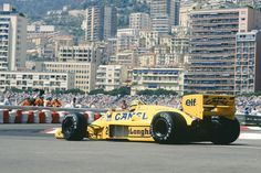 OTDI 1987, Ayrton Senna took the first of his six Monaco GP wins - on the occasion of his 50th #F1 start. ©LAT #Lotus