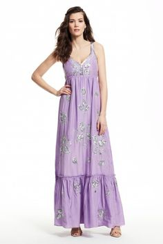 Enjoy an additional 25% off newly added sale styles. Jomeri Hand Embellished Maxi Dress.