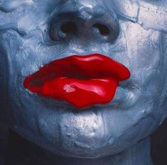 From Samuel Lynne Galleries, Tyler Shields, Red Lips (ca. Tyler Shields, 1000 Years, Pineapple Images, White Prints, Model Face, Deco Engagement Ring, Artist Life, Clipart Images, Love Pictures