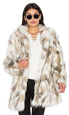 d5eef695340e5 Frances Faux Fur Coat Designer Leather Jackets, Revolve Clothing, Dolce  Vita, Fashion Trends