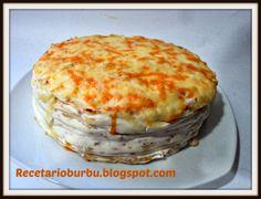 Recetario Burbu: Tarta de jamón y queso th
