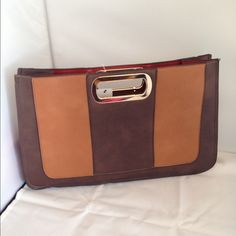 Two tone clutch envelope Two tone clutch envelope ... Size 17x10 Bags Clutches & Wristlets