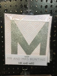 Bunting, Weddings, Frame, Silver, Home Decor, Homemade Home Decor, Garlands, Money, Mariage