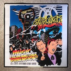 AEROSMITH Music From Another Dimension! Coaster Record Cover Ceramic Tile
