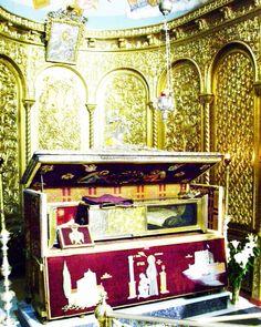 The relics of St Dionysios of Zakynthos #GreekOrthodox #Orthodox #Orthodoxy #orthodoxchurch #orthodoxchristian #easternorthodox #liveorthodoxy #liveyourliturgy #faith #love #christian by liveorthodoxy