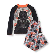 Star Wars PJs | The Children's Place. Ready for the movie premiere? Find this Long Sleeve Glow-In-The-Dark Star Wars Darth Vader Top & Pants PJ Set and more licensed Star Wars clothes for kids at our PLACE!