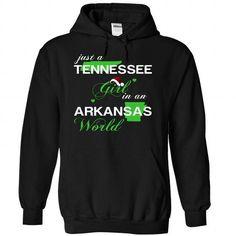 (TNNoelXanhChuoi002) Just A Tennessee Girl In A Arkansa - #animal hoodie #nike sweatshirt. ACT QUICKLY => https://www.sunfrog.com/Valentines/-28TNNoelXanhChuoi002-29-Just-A-Tennessee-Girl-In-A-Arkansas-World-Black-Hoodie.html?68278