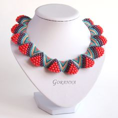 """Necklace """"Soon the summer!""""  Anneli"""