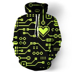 Circuit Hoodie. Love it! Need it!!