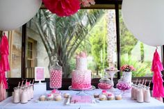 Rose Themed 1st Birthday and Christening Party | Styling | Ruffles & Bells