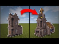 Minecraft: How To Remodel A Village Butcher s Shop YouTube Minecraft houses Minecraft pictures Minecraft