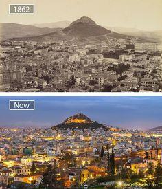 Тогда и сейчас: 15 фотографий, которые наглядно показыают как спустя время изменились известные города мира