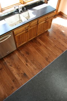 Summers Custom Hickory w/ Custom Stain Floors, Rustic, Kitchen, Inspiration, Home Decor, Home Tiles, Country Primitive, Biblical Inspiration, Flats