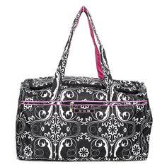 Ju Ju Be Starlet Shadow Waltz Travel Duffel Bag - 13TD02ASHW