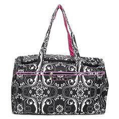 Ju Ju Be Starlet Shadow Waltz Travel Duffel Bag - 13TD02ASHW
