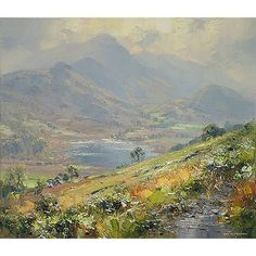Rex Preston Little Langdale Tarn
