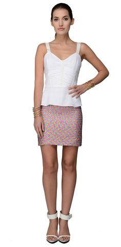 Sequin skirt...wear it dressed up, or pair with a simple tee or chambray top to dress it down.