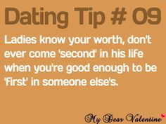 Advises or advices in dating