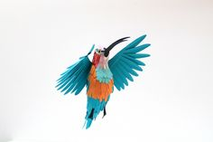 Awesome Paper Birds Delicately Layered Together - My Modern Metropolis