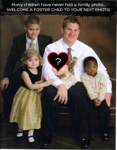 Foster Care Family Photo
