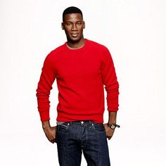 J.Crew Lambswool crewneck sweater $79.50 - Buy it here: https://www.lookmazing.com/j-crew-lambswool-crewneck-sweater/products/7337468?e=1&lid=23996&shrid=431_cw&target=images