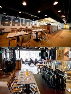Job Keja Van BAUT Op De Wibautstraat Runt Een Tijdelijk Restaurant In Oud Kantoorgebouw