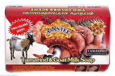 Asantee Tamarind & Goat Milk Herbal Whitening Thai Soap 135g/4.6oz…