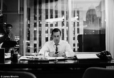 Don Draper with an Iphone