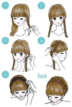 diy hairstyles for black women ~ diy hairstyles ; diy hairstyles for black women ; diy hairstyles for medium hair ; diy hairstyles easy step by step Lil Girl Hairstyles, Wedge Hairstyles, Funky Hairstyles, Hairstyles For Round Faces, Braid Hairstyles, Hairstyles Men, Wedding Hairstyles, Brunette Hairstyles, Asymmetrical Hairstyles