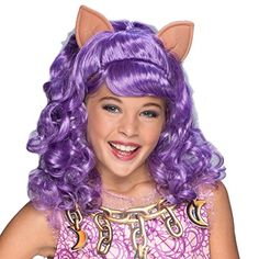 Rubie's Costume Haunted Clawdeen Wolf Child Wig -- More info could be found at the image url.