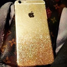 Gold/Silver iPhone 6 4.7 6 Plus 5.5 Glitter Sparkle by iSparkIe