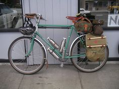 Classic Touring Bike | Flickr - Photo Sharing!