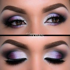 Lilac purple misty shimmer
