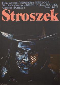 Polish film poster for Werner Herzog's 'Stroszek'