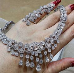 a necklace, just dripping in diamonds. If only...