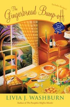 """When Phyllis Newsom is asked to take part in the Jingle Bell House Tour, she agrees, despite having a shower and wedding to prepare. But when the organizer of the tour gets beaten with one of her decorations, Phyllis decides to do a little detecting on her own. I really liked this """"Freshed Baked"""" cozy mystery that I read for Christmas and I plan on reading the series. Phyllis is middle-aged and she makes for an interesting character plus the rest of the characters are fun too."""