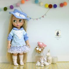 Doll clothes for Disney animator dolls 16. by RabbitinthemoonThai