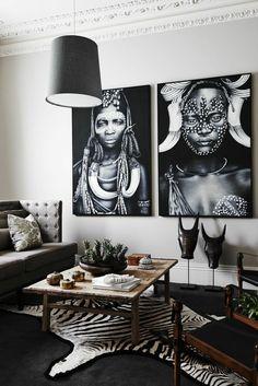 afrika deko inspiration und wanddeko ideen