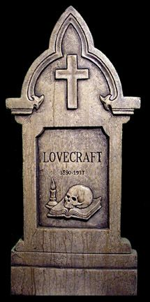 H.P. Lovecraft Tombstone