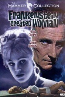 Frankenstein Created Woman (1967) | » Horror DVDs    Frankenstein Created Woman was one of the last films to be completed by Hammer at the Bray Studios, and reunited star Peter Cushing (The Horror of Frankenstein, Beast Must Die) with director Terence Fisher stars as Dr Frankenstein, who reanimates the Peter Cushing stars as Dr Frankenstein, who reanimates the corpse of a young girl (Susan Denberg - An American Dream) who had committed suicide following the wrongful hanging of her lover