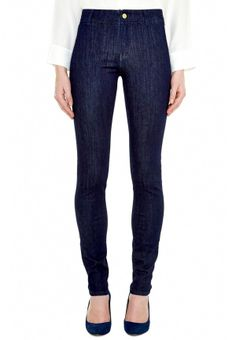 The BODYCON Jean - HIGH RISE, SKINNY LEG - Rinse Power - MiH Jeans