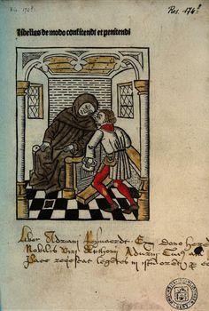 Libellus de modo confitendi et penitendi - John (of Garland), Peter (of Blois), William (de Montibus) - 1486