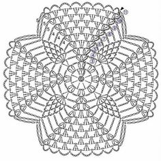 Photo from album Crochet Tablecloth Pattern, Crochet Mandala Pattern, Crochet Square Patterns, Crochet Circles, Crochet Doily Patterns, Crochet Squares, Crochet Designs, Crochet Doilies, Crochet Mat